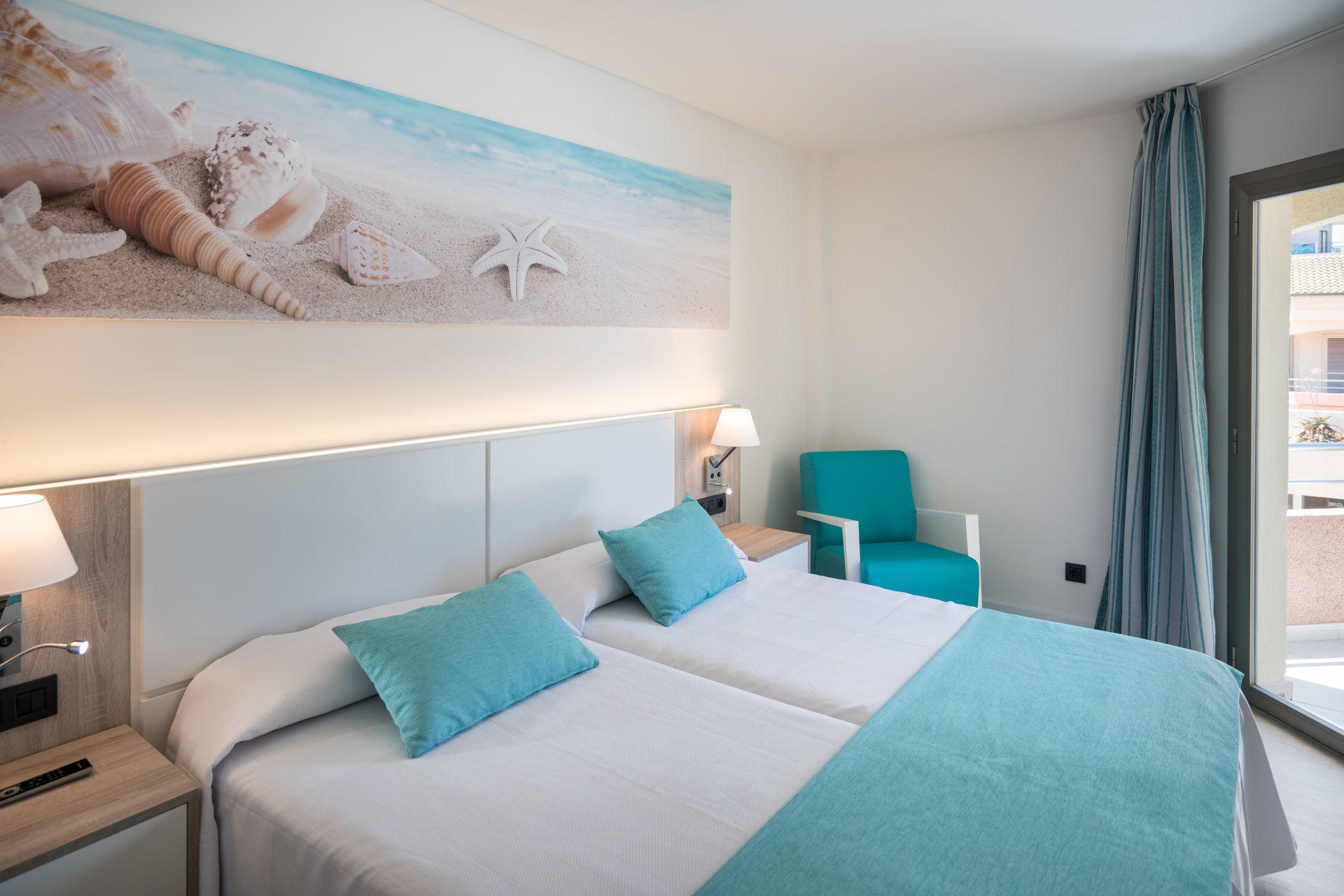 Hotel für Familien, Zimmer mit Meerblick, Cala Ratjada, Mallorca